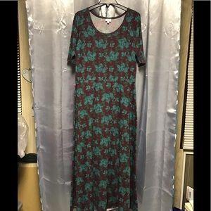 LuLaRoe maxi unicorn dress